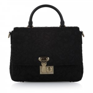 Dolce & Gabbana Satchel black wool