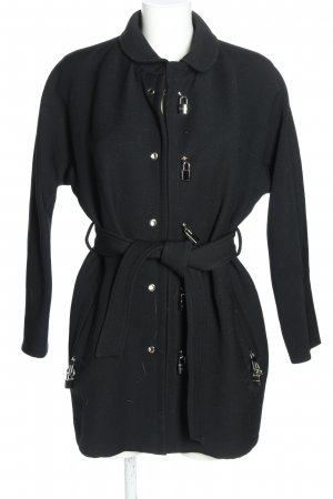 Dolce & Gabbana Übergangsmantel schwarz Casual-Look