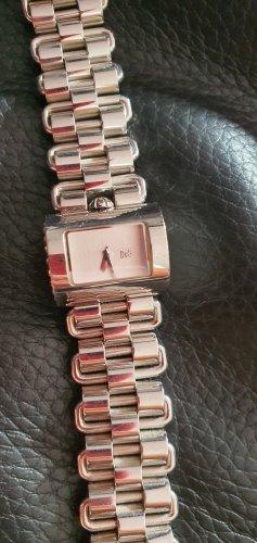 Dolce & Gabbana Montre avec bracelet métallique argenté bronze