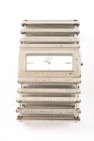Dolce & Gabbana Watch With Metal Strap silver-colored casual look