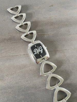 Dolce & Gabbana Uhr Silber Schwarz