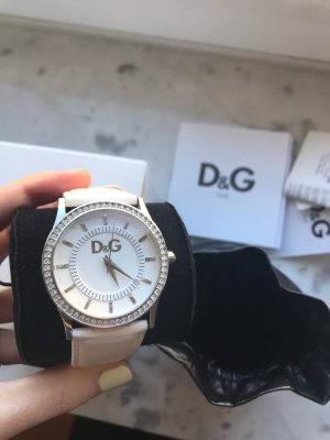 Dolce & Gabbana Watch With Leather Strap multicolored
