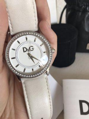 Dolce & Gabbana Uhr weiß silber