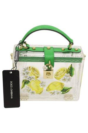 Dolce & Gabbana Umhängetasche aus Plexiglas