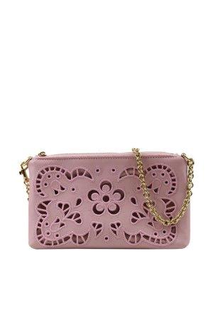 Dolce & Gabbana Umhängetasche in Rosa aus Leder