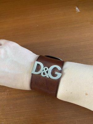 Dolce & Gabbana Vintage Armband aus Leder