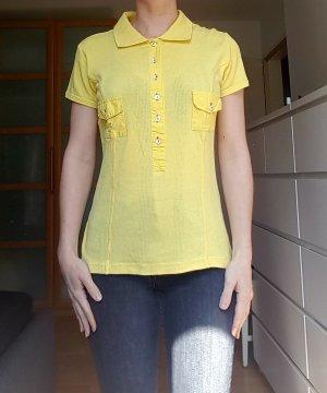 Dolce & Gabbana Vintage T-Shirt/Poloshirt gelb