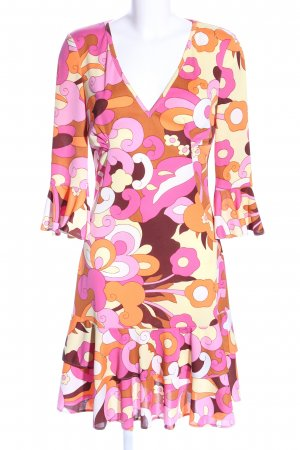 Dolce & Gabbana Flounce Dress allover print casual look