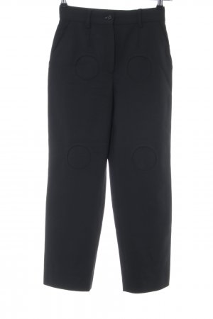 Dolce & Gabbana Pantalone di lana nero stile casual