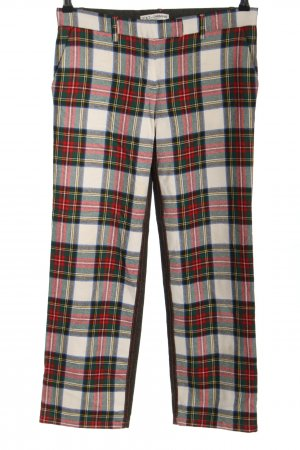 Dolce & Gabbana Woolen Trousers check pattern casual look