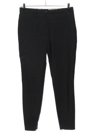 Dolce & Gabbana Pantalón de lana negro estilo «business»
