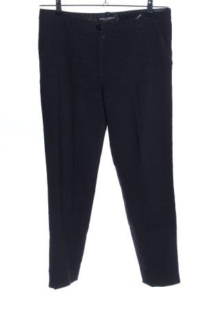 Dolce & Gabbana Wollhose blau Business-Look