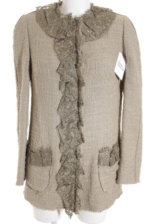 Dolce & Gabbana Wolljacke beige-ocker 80ies-Stil