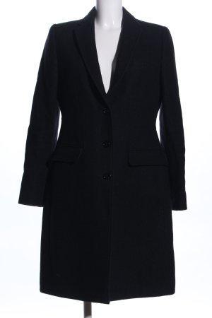 Dolce & Gabbana Wollmantel schwarz Business-Look