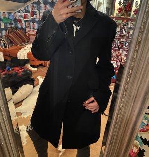 Dolce&Gabbana Wollmantel Mantel Schwatz Ital. 48 D M/L/XL