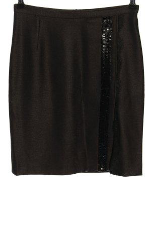 Dolce & Gabbana Gonna di lana marrone stile casual
