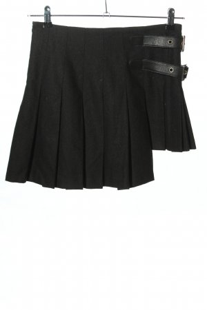 Dolce & Gabbana Wełniana spódnica czarny W stylu casual