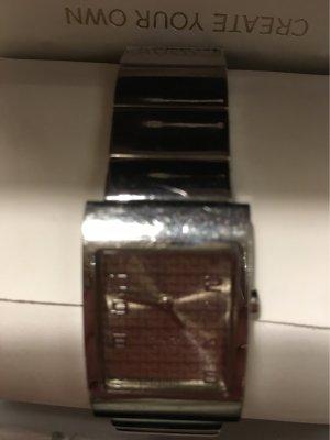 Dolce & Gabbana Reloj digital color plata-gris antracita