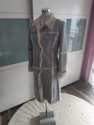 Dolce & Gabbana Giacca di pelliccia multicolore Pelle