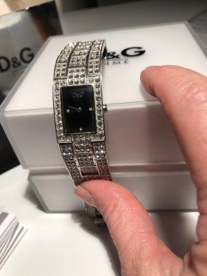 Dolce & Gabbana Zegarek automatyczny srebrny