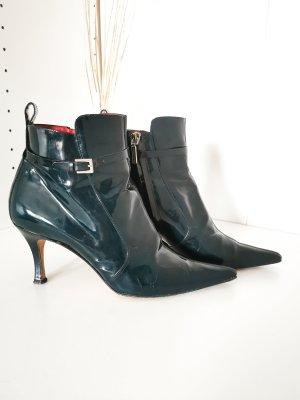 Dolce und Gabbana Stiefeletten Pumps Lackleder