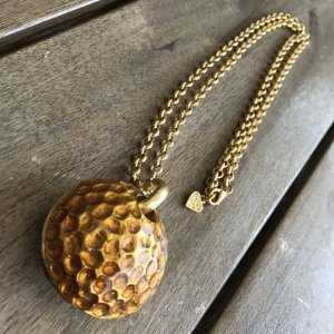 Dolce Vita Collier incrusté de pierres doré
