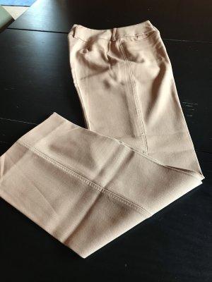 Dolce & Gabbana pantalón de cintura baja beige-camel Lana