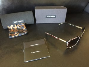 Dolce & Gabbana Gafas de sol ovaladas marrón