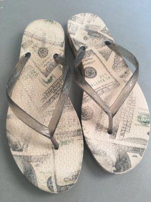 T-Strap Sandals multicolored