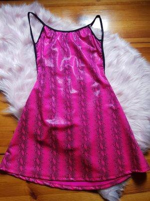 Dolls Kill Pink Snake Dress