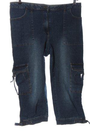 DollyWood Jeans 7/8 bleu style décontracté