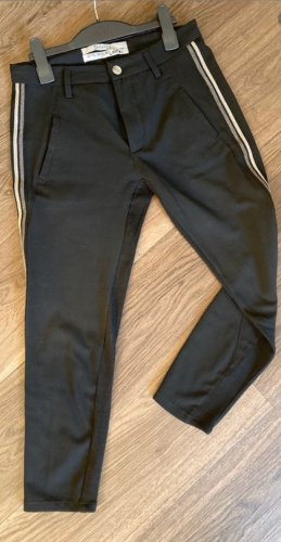 dolores 7/8 Length Trousers black-gold-colored