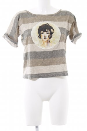 dolores Print-Shirt meliert Casual-Look