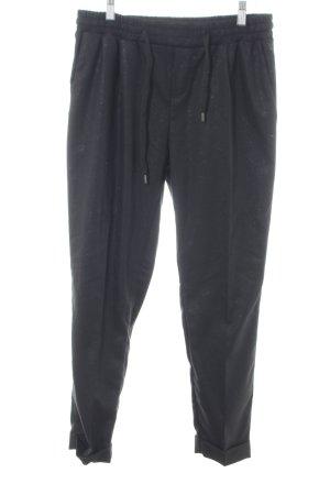 dolores Pantalon en jersey noir style d'affaires