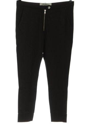 dolores Pantalon en jersey noir style décontracté