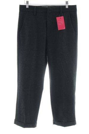 dolores Pantalon en laine noir style d'affaires