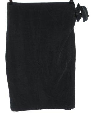 domatella Wraparound Skirt black elegant