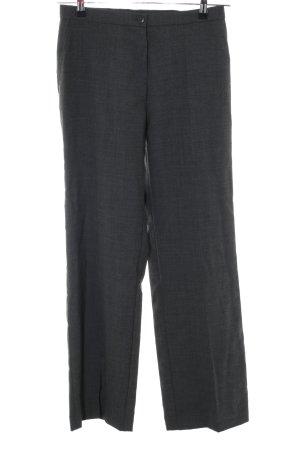Marlene Trousers black weave pattern business style