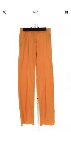 Woolen Trousers light orange