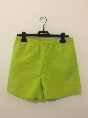 Domyos m Medium boyfriend Shorts Bermudas Kurze Hose Stoff hellgrün neon Sommer  lime  limette Kiwi