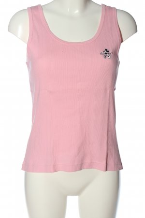 Donaldson Basic Top pink themed print casual look