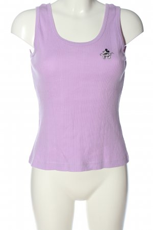 Donaldson Basic Top lilac casual look
