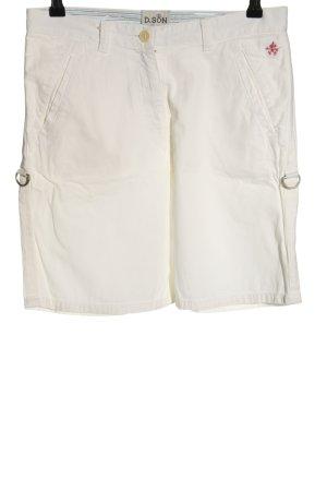 Donaldson Bermudy w kolorze białej wełny W stylu casual