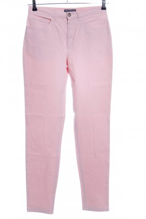 Donaldson Chinohose pink Motivdruck Casual-Look