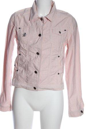 Donaldson Kurzjacke pink Streifenmuster Casual-Look
