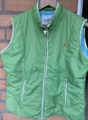 Donaldson Gilet matelassé vert-bleu clair nylon