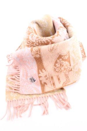 Donaldson Woolen Scarf flower pattern casual look
