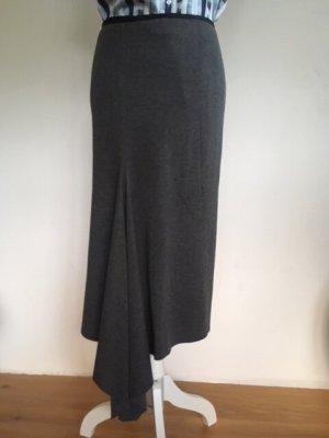 Dondup Pencil Skirt anthracite viscose