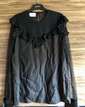 Dondup Blusa trasparente nero