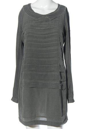 Dondup Shirtwaist dress light grey casual look